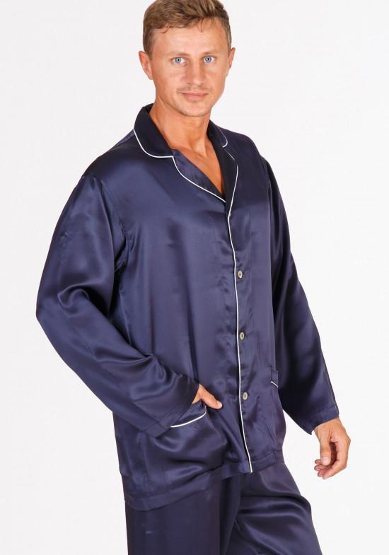 ae59193d7383b Шелковая мужская пижама Шелковая мужская пижама ...