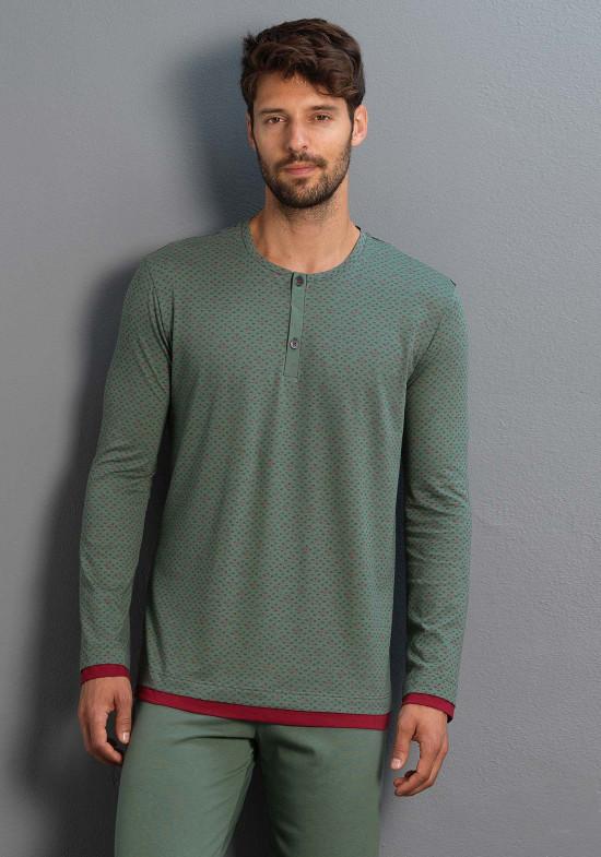 3f6d278d92e73 Мужская пижама в зеленых тонах Мужская пижама в зеленых тонах