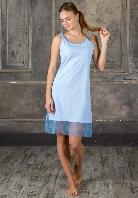 9aaa9959d3de Легкая ночная рубашка без рукавов (V_10054) - по цене 2799 руб.