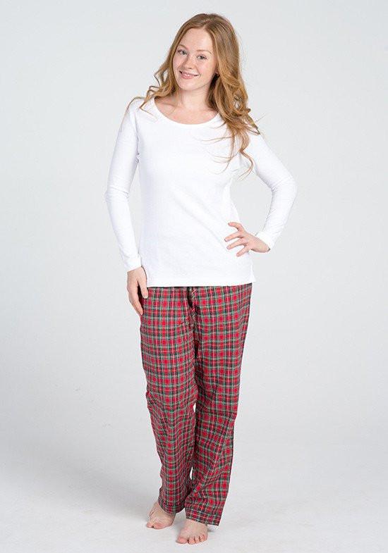 88529ce9499b Клетчатые фланелевые брюки и трикотажная кофта Клетчатые фланелевые брюки и  трикотажная кофта ...